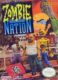 The box art of Zombie Nation