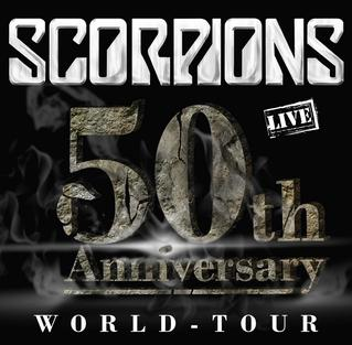 50th Anniversary World Tour concert tour by the Scorpions
