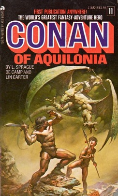 Conan the barbarian first edition number 006 (numbered 3 in rear)
