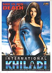 <i>International Khiladi</i> 1999 film by Umesh Mehra