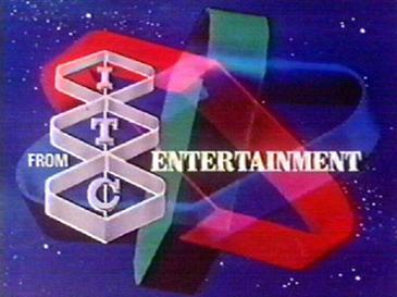 "A still from the 1973 ITC Entertainment ""Spin Top"" logo ident."
