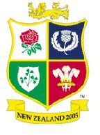 The 2005 Lions tour logo