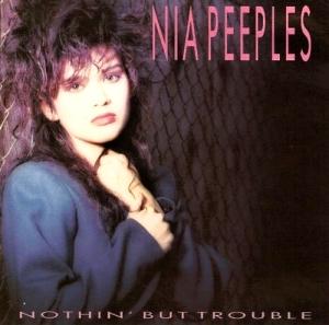 <i>Nothin But Trouble</i> (Nia Peeples album) 1988 studio album by Nia Peeples