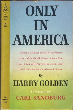Portrait of Harry Golden