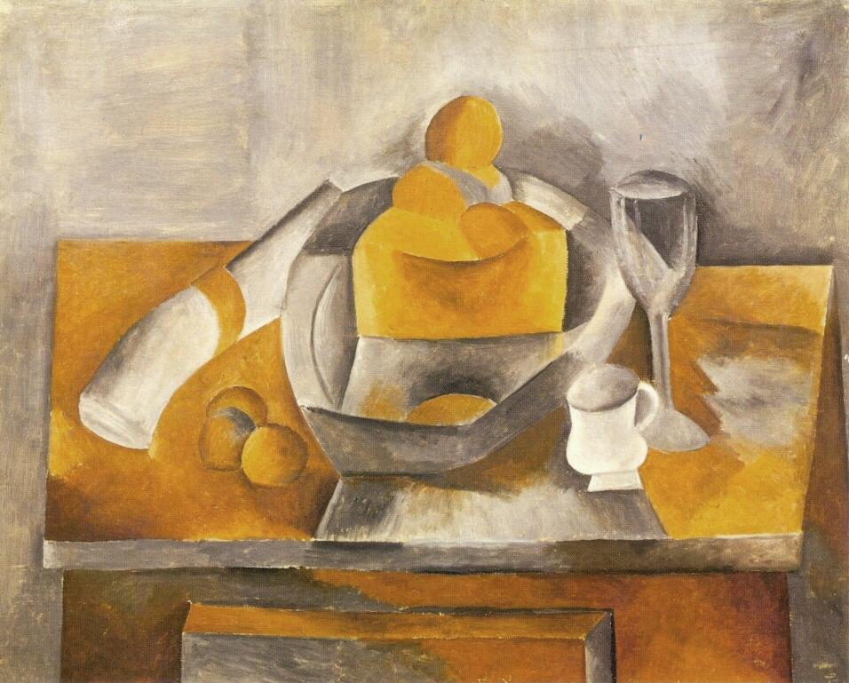 File:Pablo Picasso, 1909, Nature morte à la brioche.jpg - Wikipedia