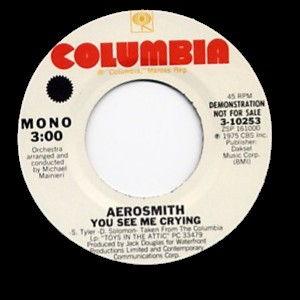 1975 single by Aerosmith