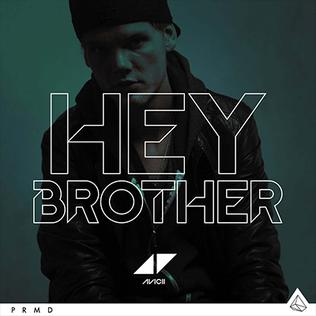 Capa do CD Avicii – Hey Brother