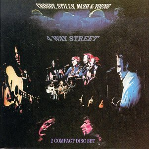 <i>4 Way Street</i> 1971 live album by Crosby, Stills, Nash & Young