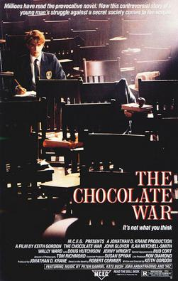 Film poster for The Chocolate War - Copyright ...
