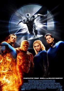 Picture of a movie: Fantastic 4: Rise Of The Silver Surfer