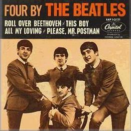 Four by The Beatles artwork