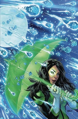Justace Leage Green Lantern Ring Left