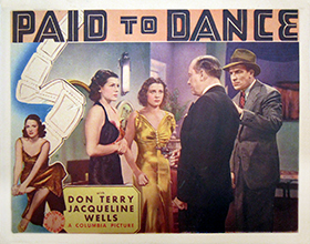 <i>Paid to Dance</i> 1937 film by Charles C. Coleman