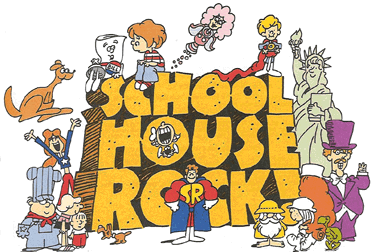 Image result for Schoolhouse Rock verb