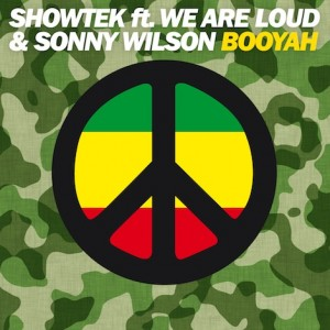 Showtek featuring We Are Loud! and Sonny Wilson — Booyah (studio acapella)