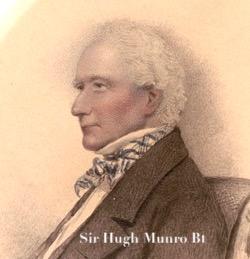 Sir Hugh Munro, 8th Baronet