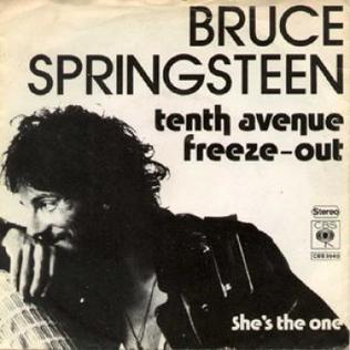 Tenth Avenue Freeze-Out 1976 single by Bruce Springsteen