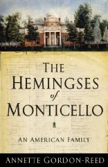 <i>The Hemingses of Monticello</i> book by Annette Gordon-Reed