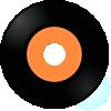 A vinyl disc.