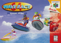 Picture of a game: Wave Race 64