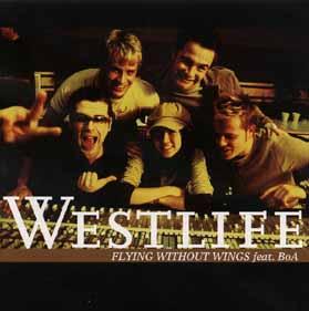 Titelbild des Gesangs Flying Without Wings von Westlife