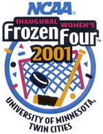 2001 Frozen Four logo