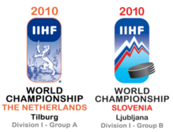 2010 IIHF World Championship Division I ice hockey tournament in the Netherlands and Slovenia