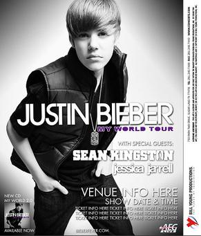 justin bieber on tour 2011. JUSTIN BIEBER MY WORLD TOUR