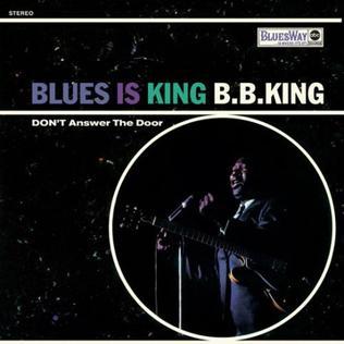 <i>Blues Is King</i> 1967 live album by B.B. King