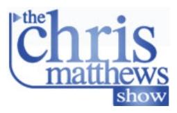 <i>The Chris Matthews Show</i> US television program
