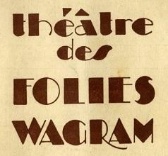 Théâtre des Folies-Wagram theatre, concert hall, located on avenue de Wagram, Paris, France
