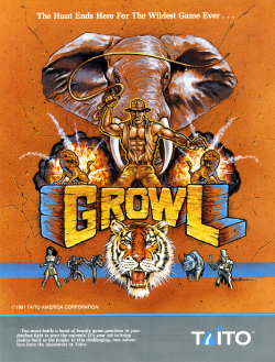 Growl arcadeflyer.png