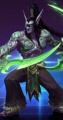 Word Game [Game Characters] - Page 8 Illidan_Stormrage