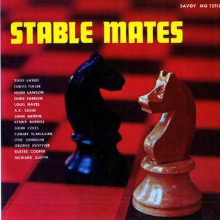 <i>Stable Mates</i> 1957 studio album by Yusef Lateef/A. K. Salim