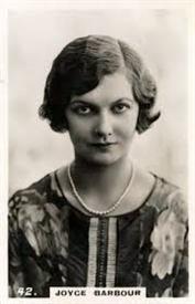 Joyce Barbour British actress