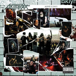 <i>Alive 2</i> 2005 live album by Anthrax