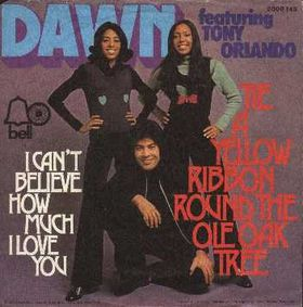 Tie a Yellow Ribbon Round the Ole Oak Tree 1973 song recorded by Tony Orlando and Dawn