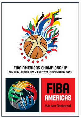 Resultado de imagen para logo fiba americas 2009