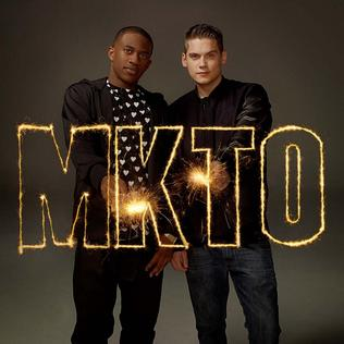 <i>MKTO</i> (album) 2014 studio album by MKTO