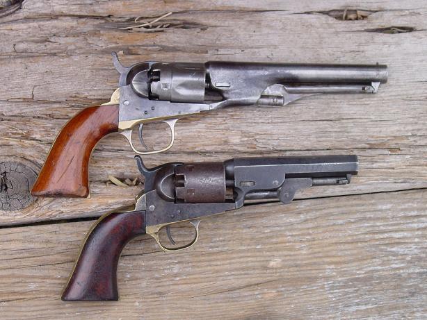 Colt Pocket Percussion Revolvers - Wikipedia