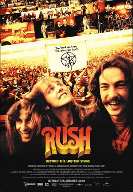 Rush: Beyond the Lighted Stage (2010) movie poster
