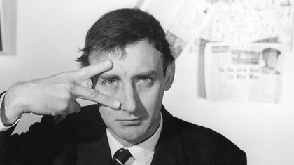 Spike Milligan in his younger days.