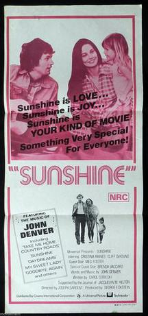 Sunshine (1973 film) - official film poster.jpg