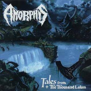 <i>Tales from the Thousand Lakes</i> 1994 studio album by Amorphis