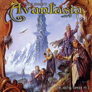 <i>The Metal Opera Part II</i> 2002 studio album by Avantasia