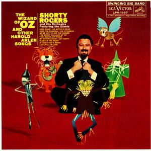 <i>The Wizard of Oz and Other Harold Arlen Songs</i> 1959 studio album by Shorty Rogers and His Orchestra Featuring The Giants