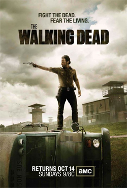 Walking Dead Season 3 Official Poster The Walking Dead Season 4 Sneak Peek!