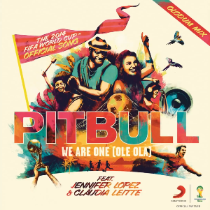 Pitbull featuring Jennifer Lopez and Claudia Leitte — We Are One (Ole Ola) (studio acapella)