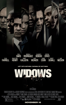 Widows (15), Amy Robsart Hall, Syderstone PE31 8SD | What do you do when your criminal husband dies and leaves a debt? | cinema