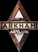 Histoire de l'Asile d'Arkham Arkham_Asylum_%E2%80%93_Shock_Therapy_logo